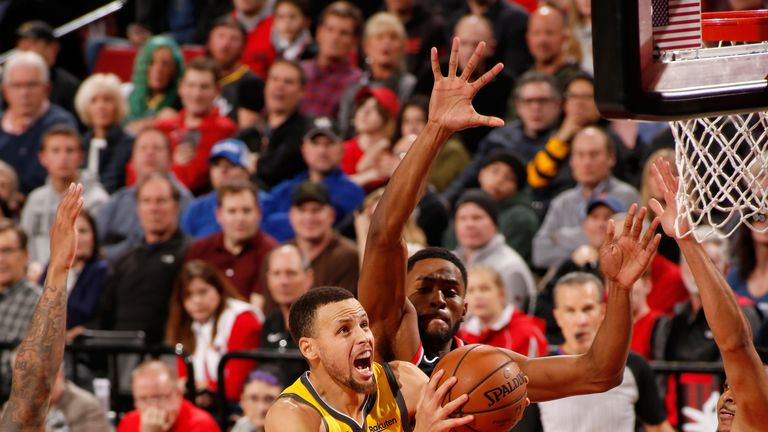 820ee1d75 NBA round-up  Portland Trail Blazers snap Golden State Warriors five-game  winning streak