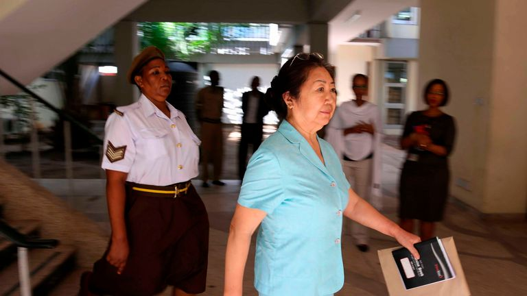 Yang Fenglan: China backs 15-year jail term for 'ivory queen' caught with 700 tusks
