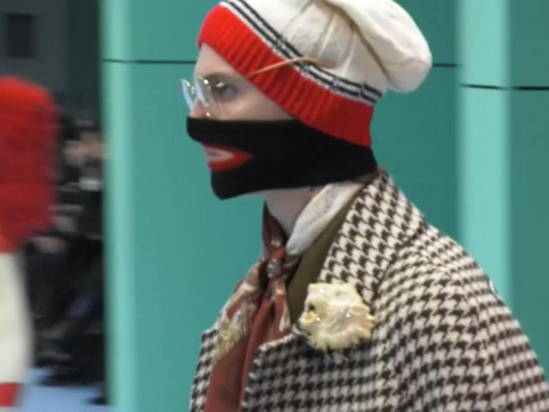 b1b4630d0a1 Gucci apologises for women s jumper that  resembles blackface ...