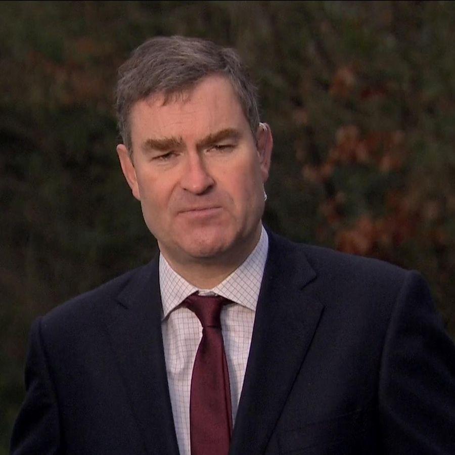 David Gauke MP talking on Sky News