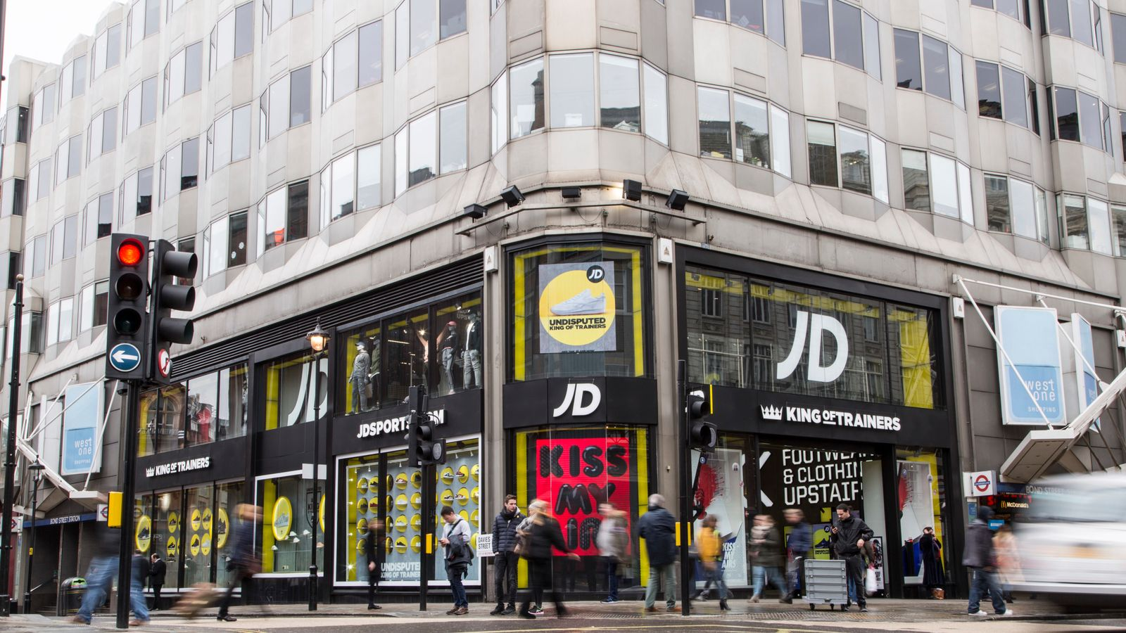3e20a5b34c JD Sports defies high street gloom with 'record' result | Business News |  Sky News