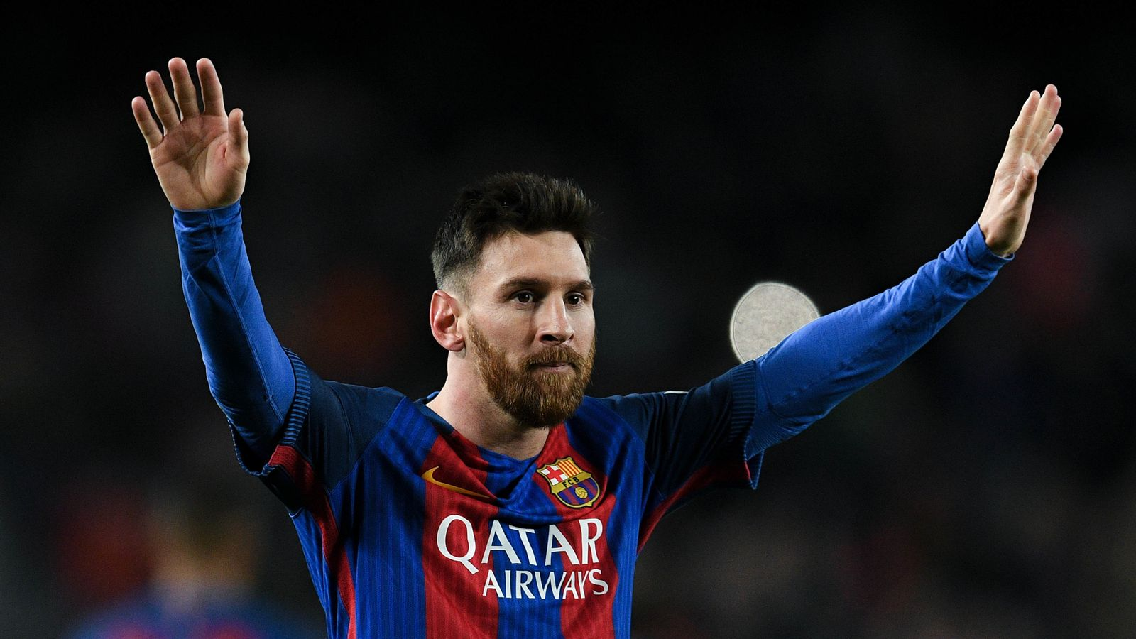 Lionel Messi Footballer Reluctantly Stays At Barca But Says Club President Did Not Keep His Word World News Sky News