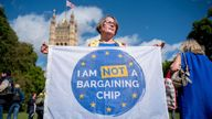 A Conservative MP has said there are 3.6 million EU nationals living in the UK