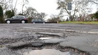 The government is looking at ways to ensure roads are less prone to potholes
