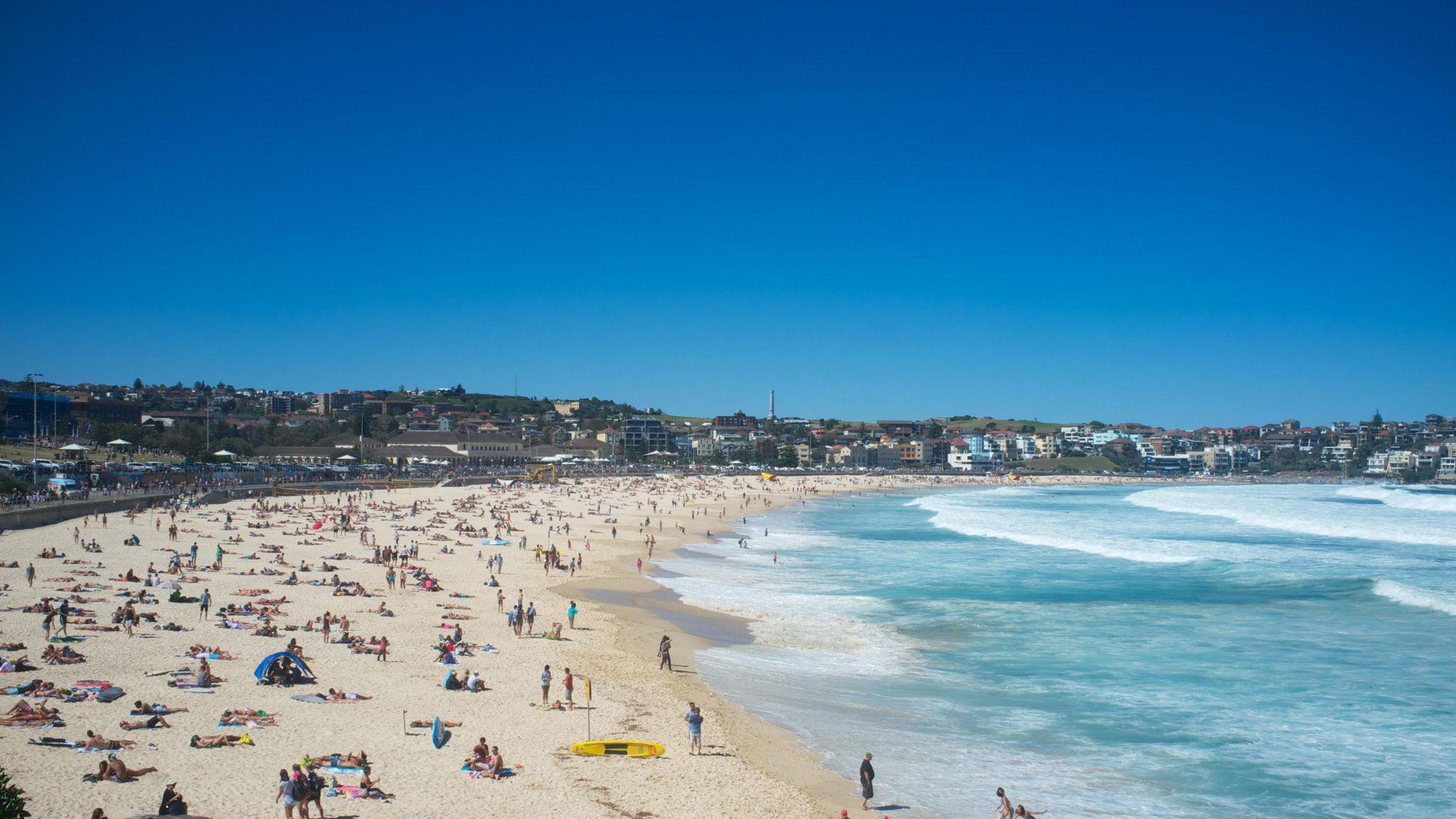 Skinny Dip Briton Sparks Major Search At Sydney S Bondi Beach World News Sky News