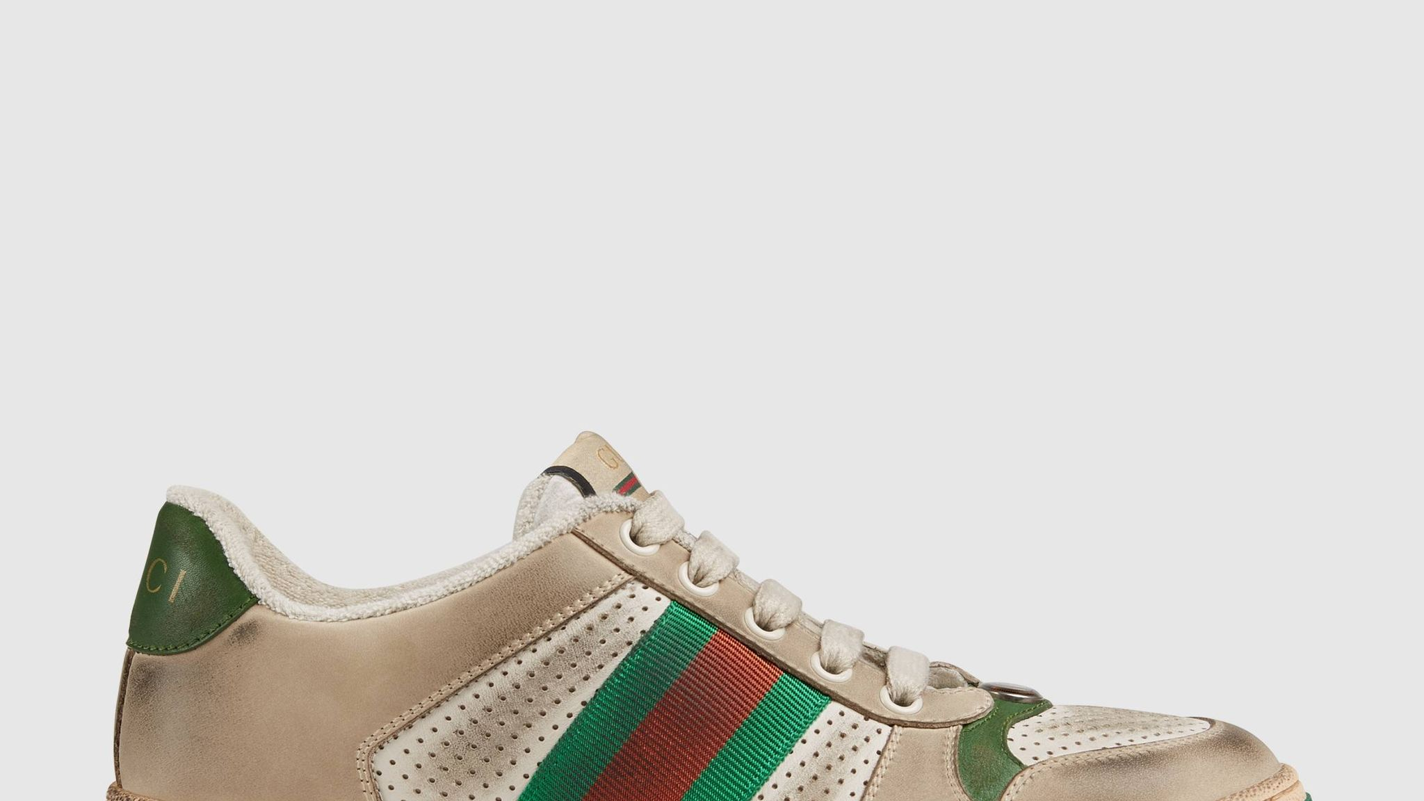 8d14b172147 Gucci criticised for selling dirty trainers from £615