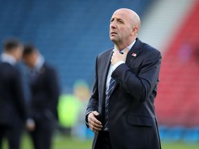 Gary McAllister is the assistant to Steven Gerrard at Rangers