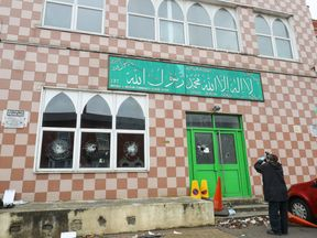 The Jamia Mosque on Albert Road in Aston was one of those targeted