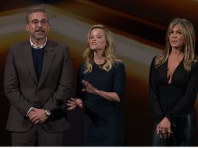 Steve Carell, Reese Witherspoon and Jennifer Aniston to star in The Morning Show