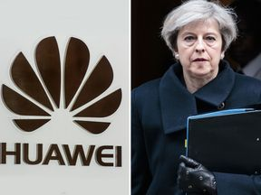 Theresa May will sign-off on releasing a report about Huawei's cyber security risks