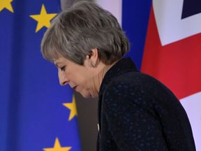 Theresa May is understood to be facing a cabinet coup