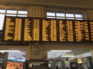 London Waterloo commuter chaos after all trains were cancelled