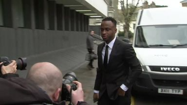 Berahino swears at reporters outside court