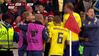 Norway 3-3 Sweden