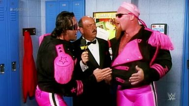 The Hart Foundation join Hall of Fame