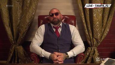 Batista calls Triple H a 'control freak'