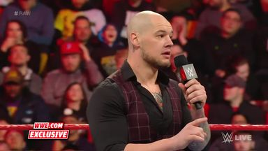 Corbin berates the WWE Universe in break