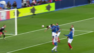 Umtiti heads France in front