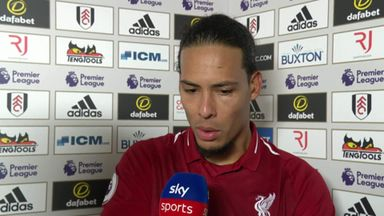 Van Dijk: Mistakes can happen