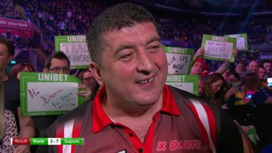 Suljovic picks up big win over Wade