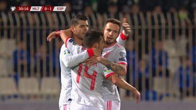 Morata fires Spain ahead