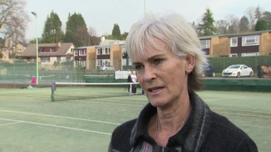 Judy's big plans for British tennis