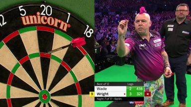 Wright's six perfect darts