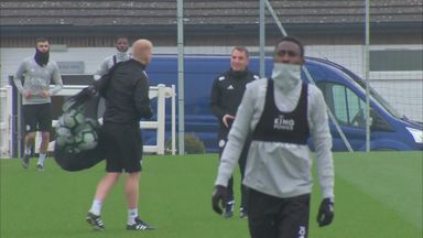 Rodgers leads Leicester training