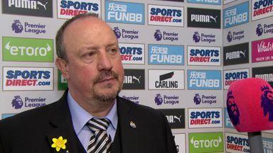 Benitez: I'm proud of my players