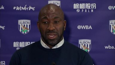 West Brom without Moore