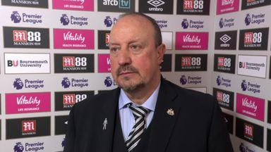 Benitez 'not happy' with decisions