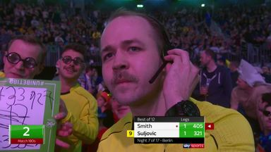 VAR ref at the darts