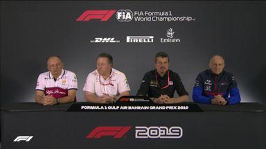 Bahrain GP: Team principals' presser