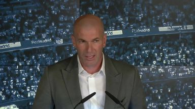 Zidane: I'm back home