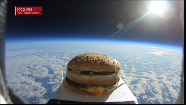 Space burger lands in Colchester!