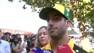 Ricciardo left frustrated