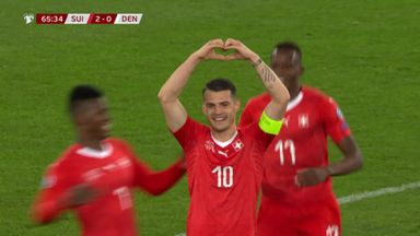 Switzerland 3-3 Denmark
