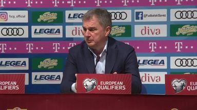Montenegro coach unaware of racist chants