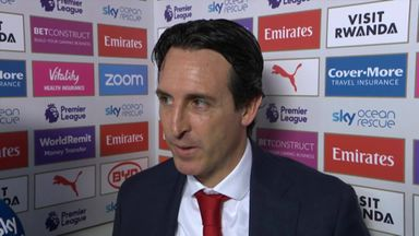 Emery proud of players