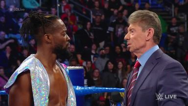 Mr. McMahon gives Kingston an opportunity