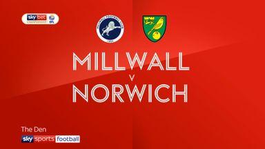 Millwall 1-3 Norwich