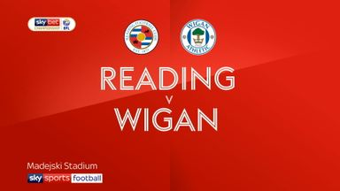 Reading 3-2 Wigan