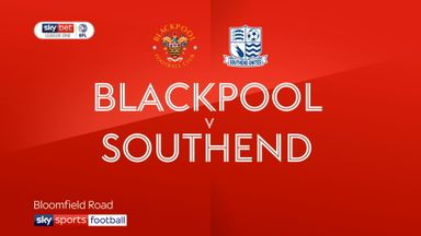 Blackpool 2-2 Southend