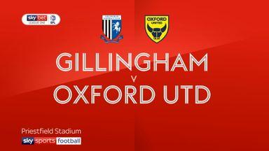 Gillingham 1-0 Oxford Utd