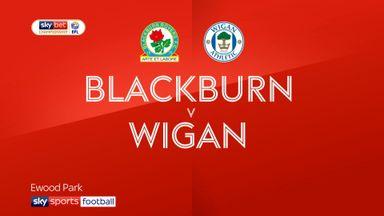 Blackburn 3-0 Wigan