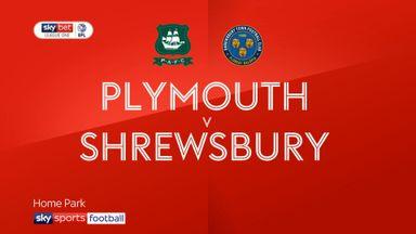 Plymouth 2-1 Shrewsbury