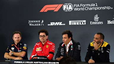 Australian GP: Team principals' presser