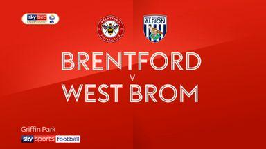 Brentford 0-1 West Brom