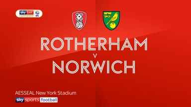 Rotherham 1-2 Norwich