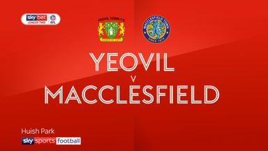 Yeovil 0-2 Macclesfield
